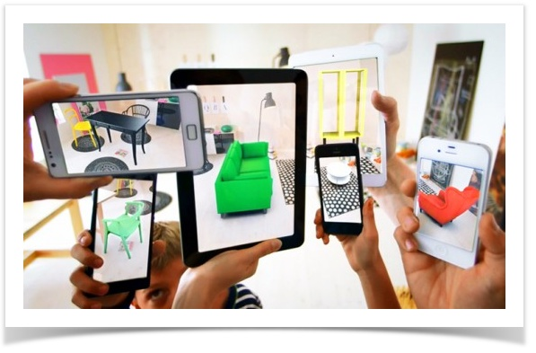 draft web site project augmented reality